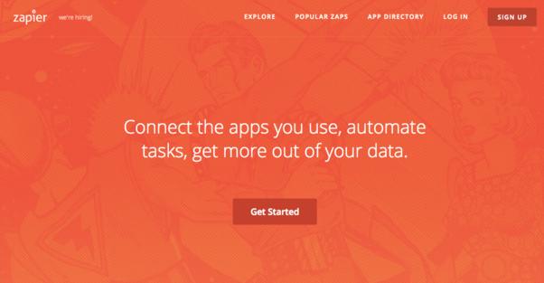 Zapier.com voorbeeld